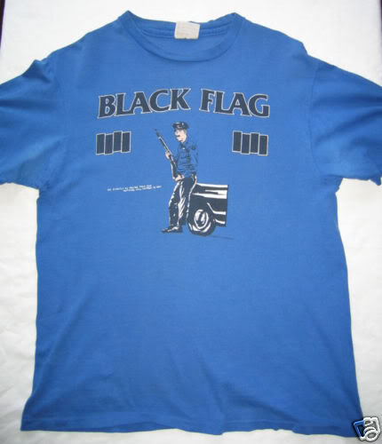 black flag in my head t-shirt