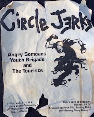 Circle Jerks show
