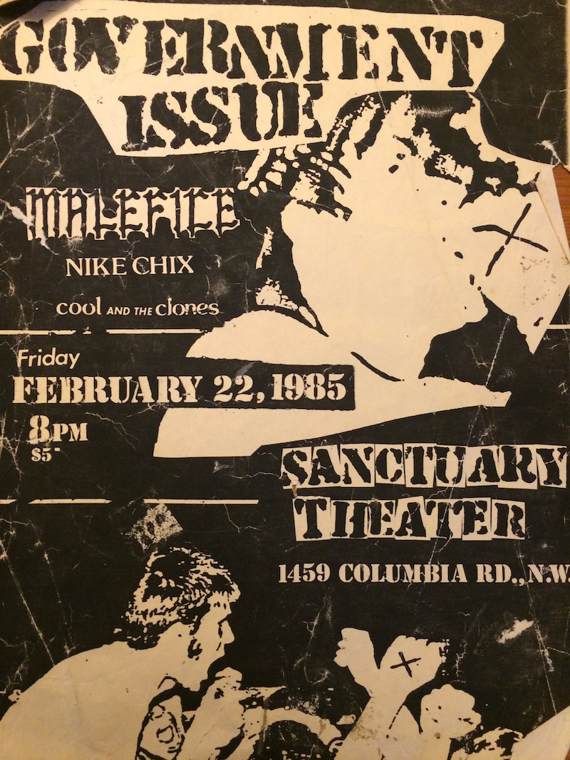 GI Sanctuary Theater flyer